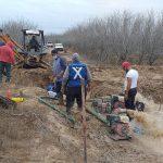 Repara COMAPA Reynosaimportante fuga de agua