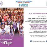 Presenta Alcaldesa programa del Día Internacional de la Mujer